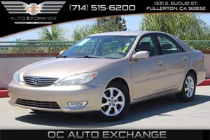 2005 Toyota Camry XLE Carfax Report - No AccidentsDamage Reported  Gold          14489 Per