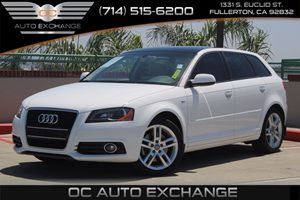 2011 Audi A3 20T Premium Plus Carfax 1-Owner  White          18217 Per Month - On Approved