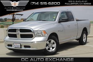 2017 Ram 1500 SLT Carfax 1-Owner  Bright Silver Metallic Clearcoat          32849 Per Month