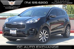 2017 Kia Sportage EX Carfax 1-Owner - No AccidentsDamage Reported  Black Cherry  We are not r