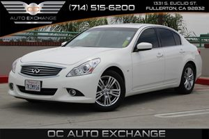 2015 INFINITI Q40  Carfax 1-Owner - No AccidentsDamage Reported  Moonlight White          27