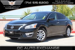 2015 Nissan Altima 25 S Carfax Report  Super Black 16008 Per Month - On Approved Credit Se