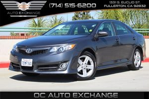 2014 Toyota Camry SE Carfax 1-Owner - No AccidentsDamage Reported  Cosmic Gray Mica 19256 P