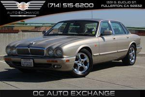 1996 Jaguar XJ Series Sedan  Carfax Report - No AccidentsDamage Reported  Gold          435