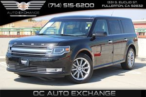 2015 Ford Flex Limited Carfax 1-Owner  Tuxedo Black Metallic          26401 Per Month - On A