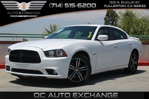 2014 Dodge Charger RT Carfax 1-Owner  Bright White Clearcoat          26401 Per Month - On A