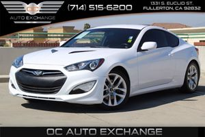 2014 Hyundai Genesis Coupe 20T Carfax Report  Casablanca White 22504 Per Month - On Approve