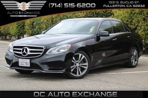 2015 MERCEDES E 350 Sport Sedan Carfax 1-Owner - No AccidentsDamage Reported  Black  We are n