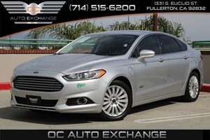 2014 Ford Fusion Energi SE Luxury Carfax 1-Owner - No AccidentsDamage Reported  Sterling Gray