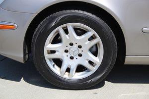 2003 MERCEDES E320 Sedan Carfax Report - No AccidentsDamage Reported  Desert Silver Metallic