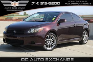 2008 Scion tC  Carfax Report - No AccidentsDamage Reported  Red  We are not responsible for t