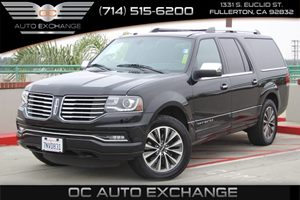 2016 Lincoln Navigator L Select Carfax 1-Owner  Black Velvet          49275 Per Month - On A
