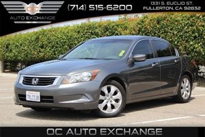 2009 Honda Accord Sdn EX-L Carfax Report - No AccidentsDamage Reported  GRAY  We are not resp