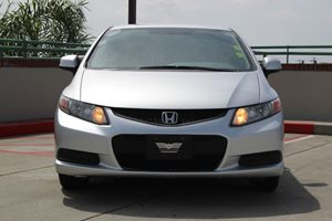 2012 Honda Civic Cpe LX Carfax Report - No AccidentsDamage Reported  Alabaster Silver Metallic