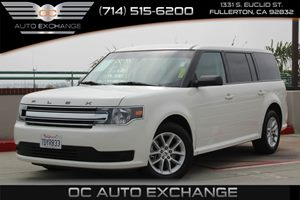 2014 Ford Flex SE Carfax 1-Owner  Oxford White          23803 Per Month - On Approved Credit