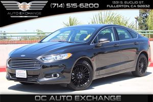 2014 Ford Fusion SE Carfax 1-Owner - No AccidentsDamage Reported  Tuxedo Black Metallic  We a