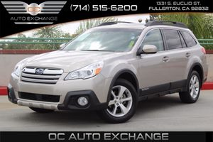 2014 Subaru Outback 25i Limited Carfax 1-Owner  Carbide Gray Metallic  We are not responsible