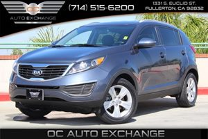 2013 Kia Sportage LX Carfax Report  Twilight Blue          17307 Per Month - On Approved Cre