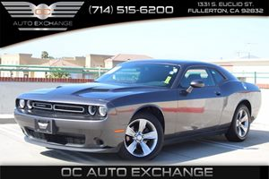 2016 Dodge Challenger SXT Carfax 1-Owner - No AccidentsDamage Reported  Granite Pearlcoat -S