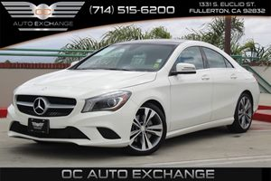 2016 MERCEDES CLA 250 Coupe Carfax 1-Owner  Cirrus White  We are not responsible for typograph
