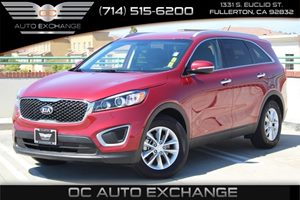 2017 Kia Sorento LX V6 Carfax 1-Owner - No AccidentsDamage Reported  Remington Red