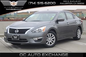 2015 Nissan Altima 25 S Carfax 1-Owner  Gray  We are not responsible for typographical errors