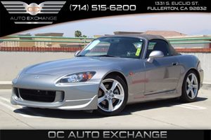 2008 Honda S2000  Carfax Report - No AccidentsDamage Reported  Gray          31585 Per Mont