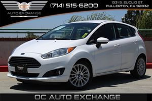 2014 Ford Fiesta Titanium Carfax 1-Owner  Oxford White  We are not responsible for typographic