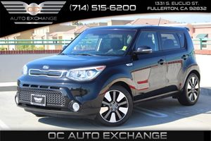 2015 Kia Soul  Carfax 1-Owner - No AccidentsDamage Reported  Shadow Black          19906 P