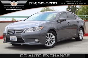 2014 Lexus ES 300h Hybrid Carfax Report - No AccidentsDamage Reported  Nebula Gray Pearl