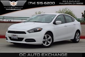 2015 Dodge Dart SXT Carfax Report - No AccidentsDamage Reported  White          14349 Per M