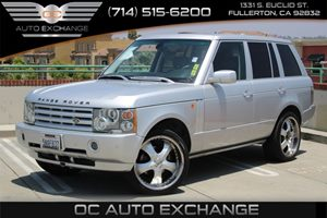 2005 Land Rover Range Rover HSE Carfax 1-Owner  Zambezi Silver  We are not responsible for typ