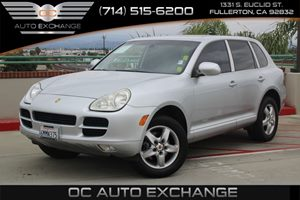 2005 Porsche Cayenne  Carfax Report - No AccidentsDamage Reported  Crystal Silver Metallic  W