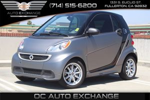 2015 smart fortwo electric drive Passion Carfax 1-Owner - No AccidentsDamage Reported  Gray Ma