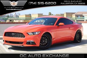 2015 Ford Mustang V6 Carfax 1-Owner - No AccidentsDamage Reported  Competition Orange  We are