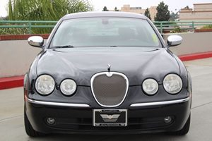 2007 Jaguar S-TYPE 30 Carfax Report - No AccidentsDamage Reported  Black          11401 Pe