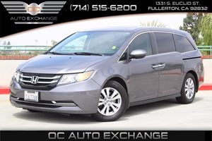 2015 Honda Odyssey EX-L Carfax 1-Owner  Gray  We are not responsible for typographical errors
