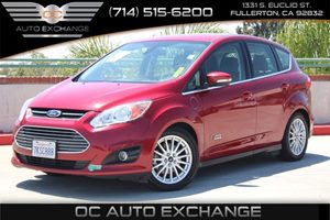 2015 Ford C-Max Energi SEL Carfax 1-Owner - No AccidentsDamage Reported  Ruby Red Metallic Tin
