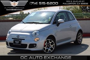 2014 FIAT 500 Sport Carfax 1-Owner - No AccidentsDamage Reported  Argento Silver