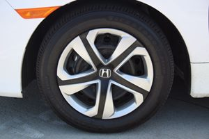 2016 Honda Civic Sedan LX Carfax 1-Owner  Taffeta White          20945 Per Month - On Approv
