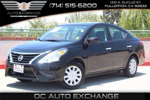 2016 Nissan Versa SV Carfax 1-Owner - No AccidentsDamage Reported  Super Black  We are not re