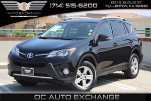 2014 Toyota RAV4 XLE Carfax 1-Owner  Black  We are not responsible for typographical errors A