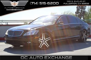 2008 MERCEDES S550 Sedan Carfax Report - No AccidentsDamage Reported  Black  We are not respo