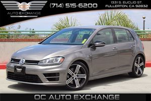 2016 Volkswagen Golf R  Carfax 1-Owner - No AccidentsDamage Reported  Limestone Gray Metallic