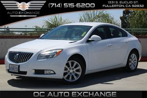 2013 Buick Regal Premium 1 Carfax 1-Owner - No AccidentsDamage Reported  Summit White  We are