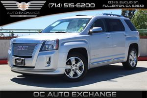 2015 GMC Terrain Denali Carfax 1-Owner - No AccidentsDamage Reported  Quicksilver Metallic  W