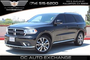 2015 Dodge Durango Limited Carfax Report - No AccidentsDamage Reported  Black Forest Green Pea
