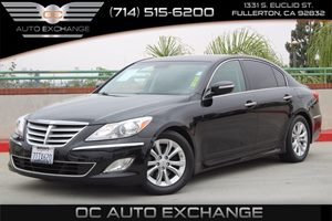 2013 Hyundai Genesis 38L Carfax Report - No AccidentsDamage Reported  Black Noir Pearl  We a