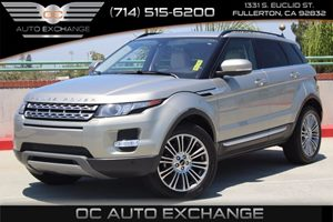 2012 Land Rover Range Rover Evoque Prestige Premium Carfax 1-Owner  Tan  We are not responsibl