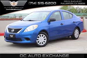 2014 Nissan Versa S Plus Carfax 1-Owner  Blue Onyx  We are not responsible for typographical e